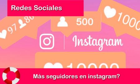 mas seguidores en instagram