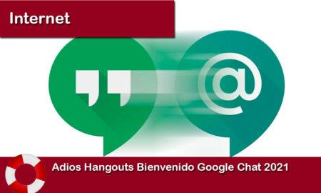 Adios Hangouts Bienvenido Google Chat 2021