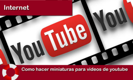 Como hacer miniaturas para videos de youtube