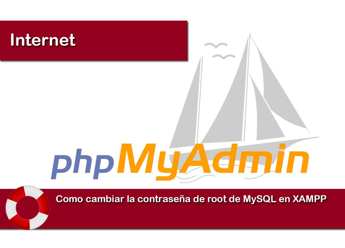 Como cambiar la contraseña de root de MySQL en XAMPP