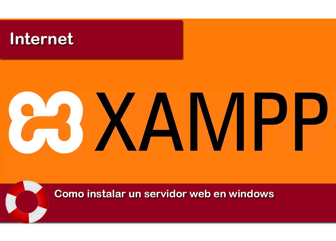 Como instalar un servidor web en windows