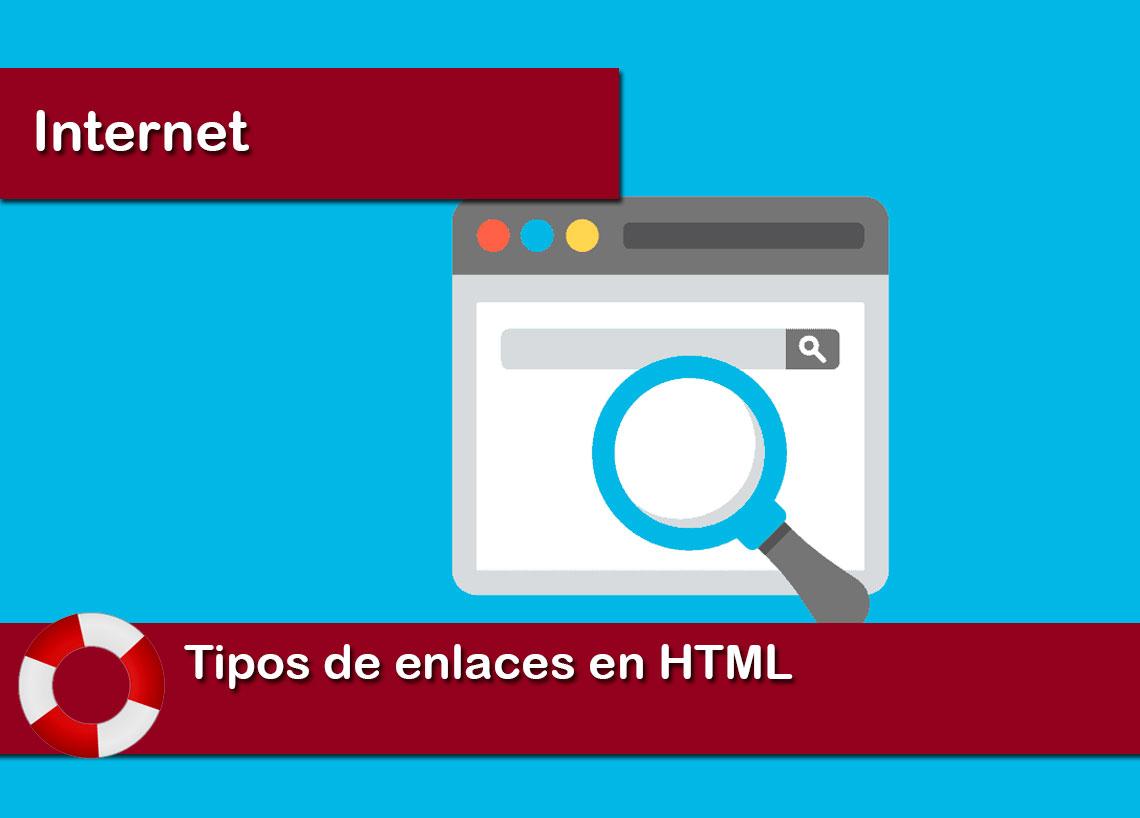 Tipos de enlaces en HTML
