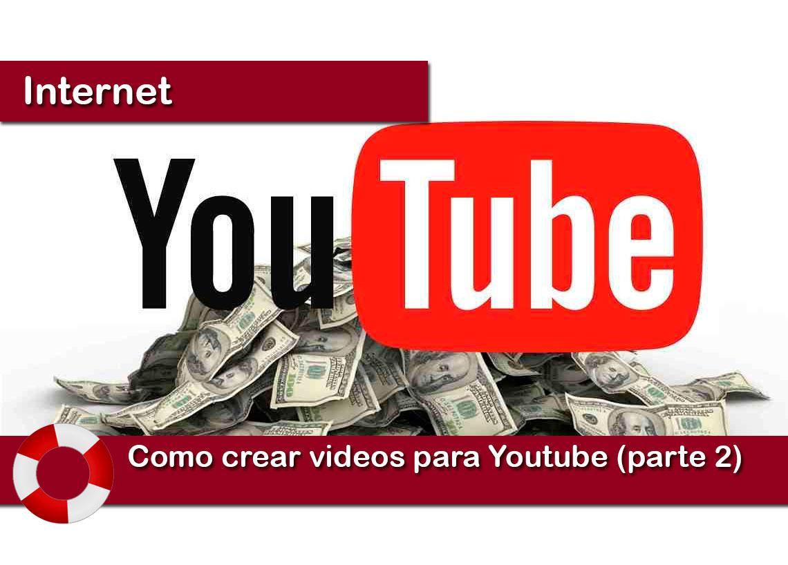Como crear videos para YouTube