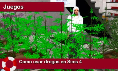 Como usar drogas en Sims 4